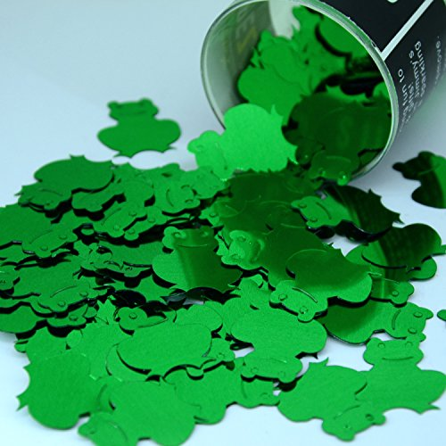 Confetti 14g Pack - Confetti Frogs in Green - Retail Pack #9276 - Free Ship