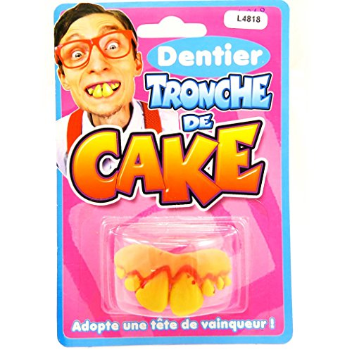 Reines Des Neiges Costume (False teeth 'Tronche De Cake' .)