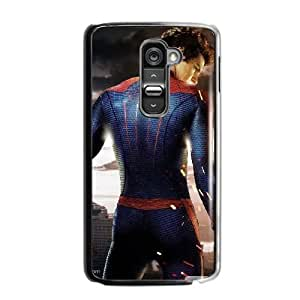 Fashion Style for LG G2 Cell Phone Case Black the amazing spider man 2012 YIS3844138