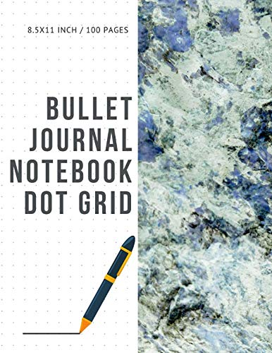 Bullet Journal Notebook Dot Grid: Cheap Composition Journals Books College Ruled To Write In Letter Paper Size 8.5 X 11 Volume 86