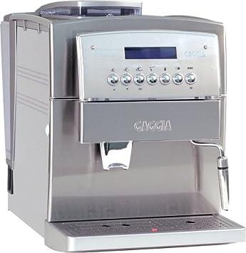 gaggia titanium ss super automatic espresso and cappuccino machine stainless steel