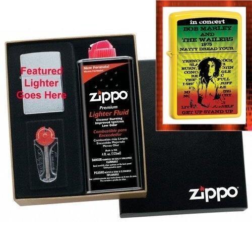Dread Starter Set (Bob Marley and The Wailers - Natty Dread Tour 1975 Zippo Lighter Gift Set)