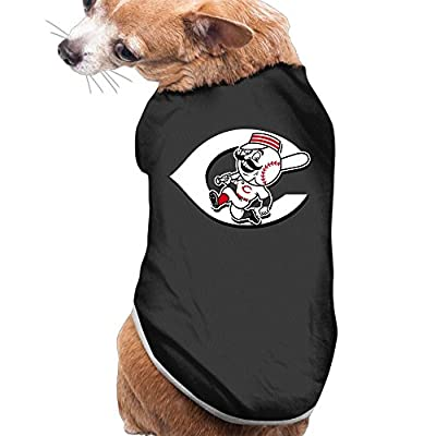 NCKG Pet Outfit Shirts Cincinnati Reds Polo Dogs