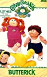Cabbage Patch Kids Fitness Outfits Butterick 3920 Vintage Aerobic Outfit, Running Suit, Jogging Outfit