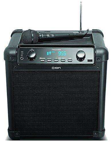 ION Audio Tailgater (iPA77) | Portable Bluetooth PA Speaker with Mic, AM/FM Radio, and USB Charge Port by ION Audio (Image #4)