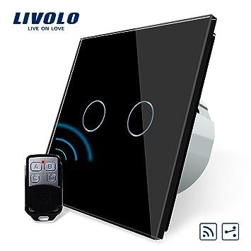 Funkschalter Für Led Beleuchtung | Livolo Funk Schalter Mit Fernbedienung Mit Led Anzeige Licht