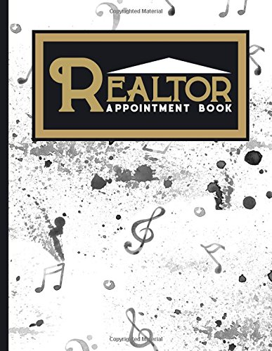 Realtor Appointment Book: 2 Columns Appointment Maker, Appointment Tracker, Hourly Appointment Planner, Music Lover Cover (Volume 31) pdf