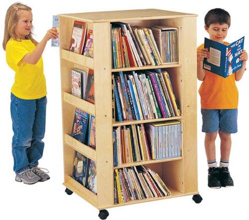 Jonti-Craft Mobile Media Tower and Book Storage Unit ()