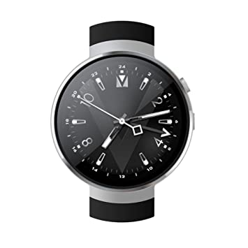 AUTOECHO Z28 4G Reloj Inteligente Android 7.0 1GB + 16GB de RAM WiFi GPS 2 Millones de Píxeles Llamadas a Mano SmartWatch Podómetro de Frecuencia Cardíaca ...