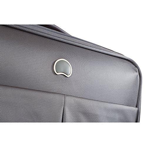 DELSEY AIR ADVENTURE SOFT2 Koffer, 68 cm, 81 liters, Grau (Gris Argent)