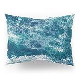 Society6 Sea Foam Pillow Sham Standard (20'' x 26'') Set of 2