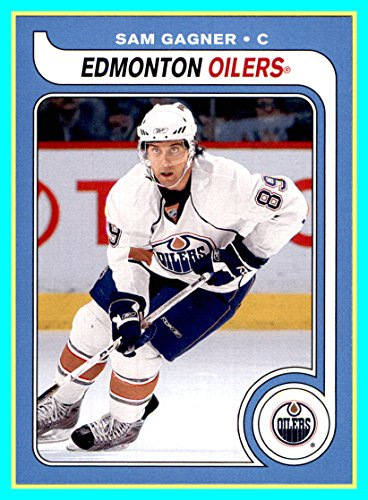 (2008-09 O-Pee-Chee 1979-80 Retro #425 Sam Gagner edmonton oilers)