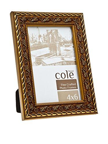 Philip Whitney Thin Gold Tone Wood Frame 5X7, Wood, 6.75x8.75x0.75 (Cheap 5x7 Frames)