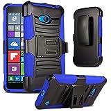 "Microsoft Lumia 640 5"" Case, Premium Hard & Soft Sturdy Durable Rugged Shell"