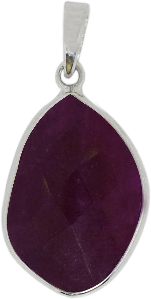Shine Jewel Nuevo colgante de joyería de plata de ley 925 de ónix rojo para mujer Red Onyx Blanco