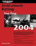 Instrument Rating Test Prep 2004, ASA Staff, 1560274905