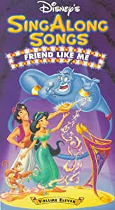 Disney Sing Along Songs: Friend Like Me: Volume Eleven [VHS]