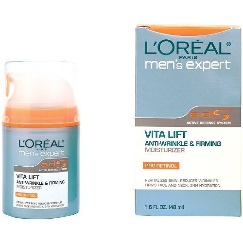Expert Lift (Loreal Mens Expert Vita Lift Anti-wrinkle and Firming Moisturizer - 1.6 Oz, Pack of 3)