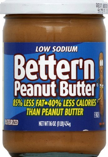 Butter Better - Better N Peanut Butter Peanut Sprd Ls Lf , pack of 3