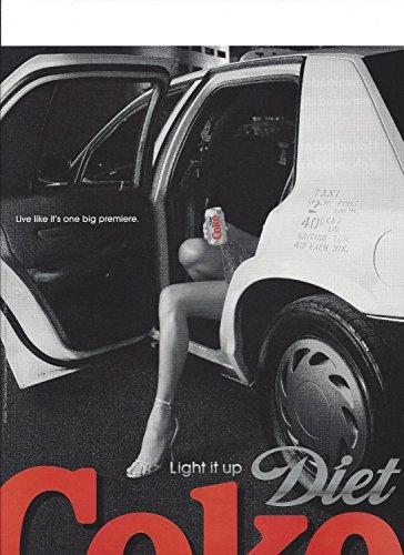 NT For 2006 Diet Coca Cola Live Like It's One Big Premiere (Coca Cola Magazine)