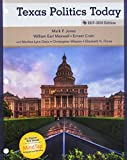 img - for Texas Politics Today 2017-2018 Edition, Loose-Leaf Version book / textbook / text book