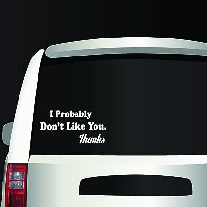 """Vinyl Decal Sticker DON/'T BE A RICHARD Car Truck Bumper Window Laptop Fun 7/"""""""