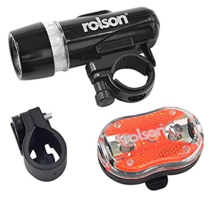 rolson tools  : Rolson Tools 60739 LED Bicycle Light Set - 2 Pieces by ...