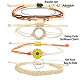 14 Pieces Bracelets for Teen Girls Wave Strand