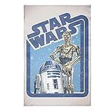 Best Blanket Star Wars Blankets - Star Wars Classic Droids Sweatshirt Blanket, Droids Blanket Review