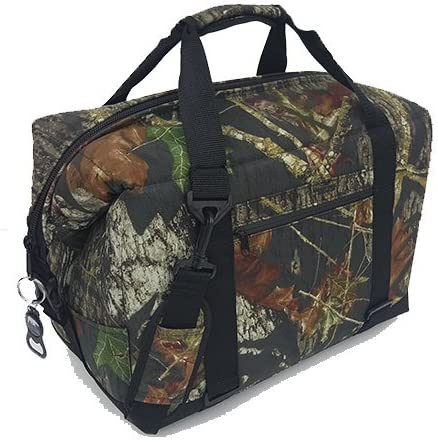 Polar Bear Coolers – Nylon Line – Quality Like No Other from The Brand You Can Trust – See Touch Feel The Polar Bear Difference – Patent Pending – 24 Pack Mossy Oak Break Up Camo
