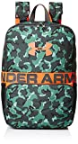 Under Armour Unisex Kids' Change-Up Backpack, Aegean Green (707)/Neon Coral, One Size