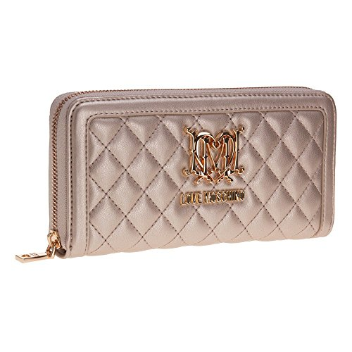 Love Moschino Quilted Womens Purse Gold by Love Moschino (Image #1)