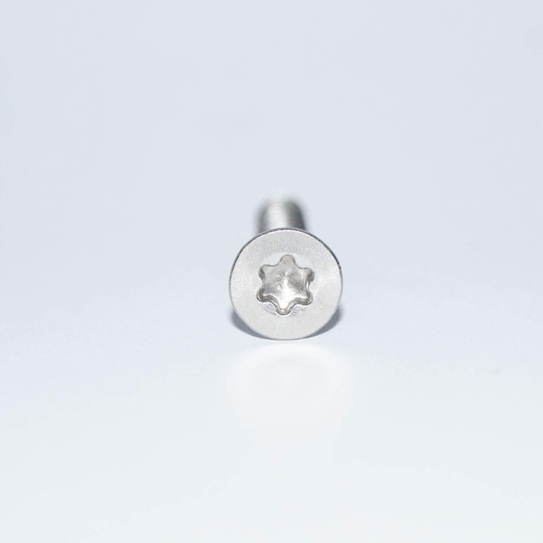 Viti autofilettanti a testa svasata C 5,5 X 32 fino a C 5,5 X 100 TX25 in acciaio inox A2.