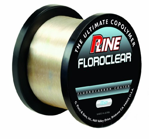 P-Line Floroclear Bulk Fishing Spool (3000-Yard, 5-Pound)