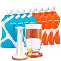 Squooshi Filling Station + G.O. 8 Pack Bundle | 8 Pouches