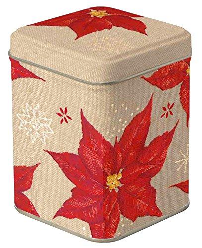 Boston International Stitched Winter Rose Tea (Winter Rose Poinsettia)