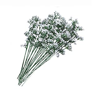 Sixsons Artificial Flowers - 1 Head Romantic Baby's Breath Gypsophila Silk Flower Wedding Party Home Decor 3