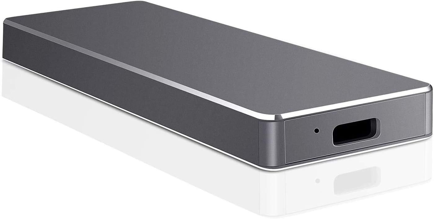 External Hard Drive,1TB 2TB Portable External Hard Drive External HDD Compatible for PC, Mac,Desktop, Laptop(1TB-A Black)