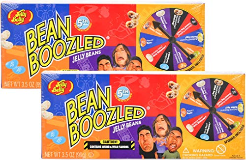 (Set/2) Jelly Belly Bean Boozled Jelly Beans Gift Box - Wild & Weird Flavors -