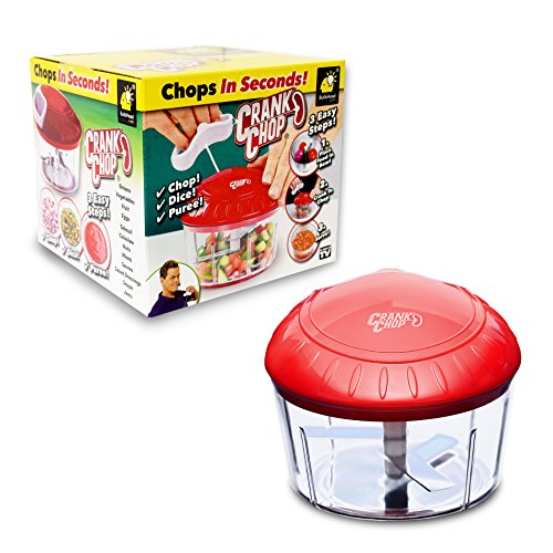 per and Processor Deluxe with Japanese Blades - Chop Dice Puree Vegetables Onions Tomatoes Garlic Meats and Nuts in Just Seconds for Delicious Meals - Perfect for Homemade Salsa ()