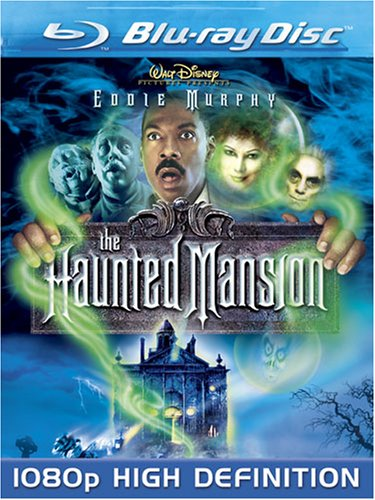 Blu-ray : The Haunted Mansion (, Dubbed, Dolby, AC-3, Widescreen)