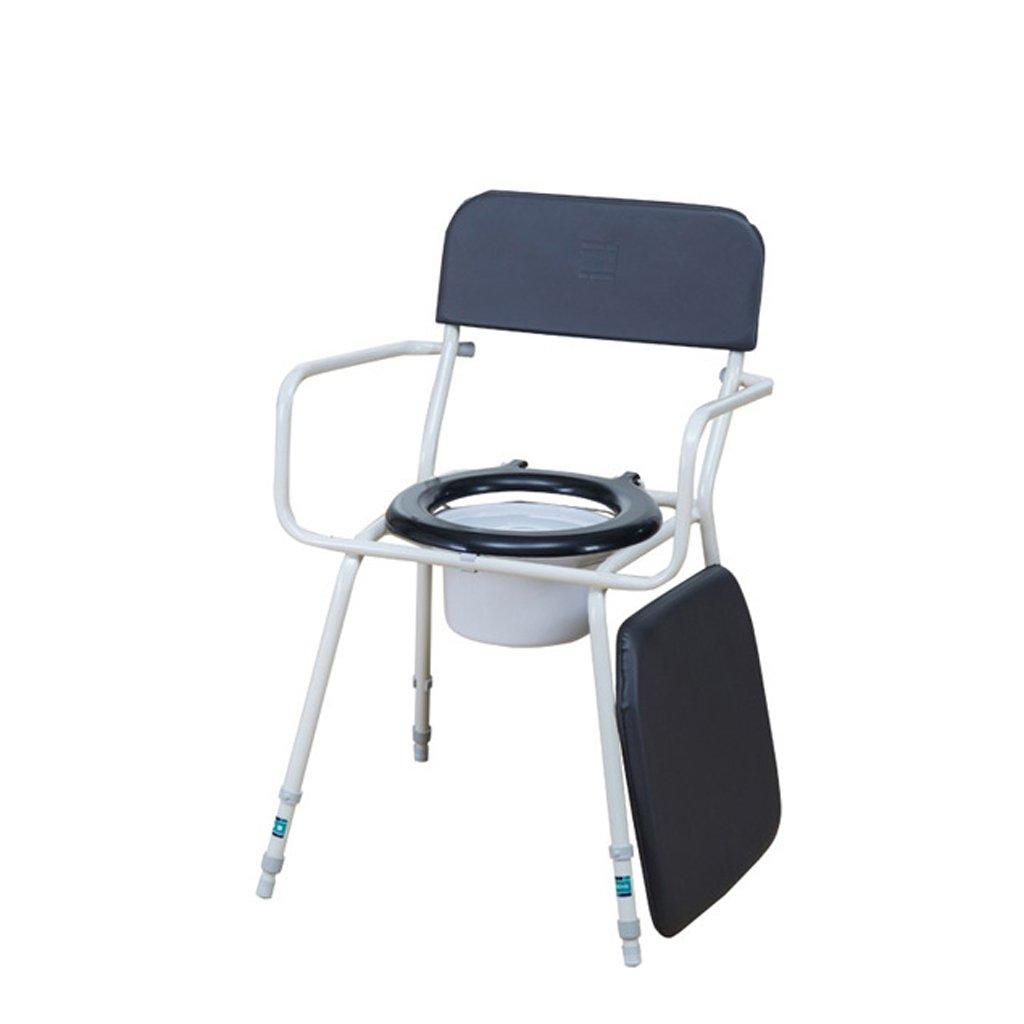 家庭の照明- 高齢者のためのトイレスツール51 * 51cmの妊娠中の女性のためのトイレの椅子革のクッション B07DKDK2YQ