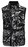 M&S&W Men Sleeveless Camo Printed Multi-Pocket Outdoor Wash Cargo Waistcoat 1 M