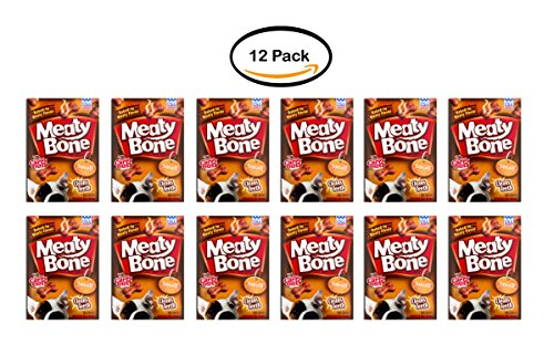 PACK OF 12 - Meaty Bone Dog Snacks Small Dogs 5-20 LB, 22.5 OZ