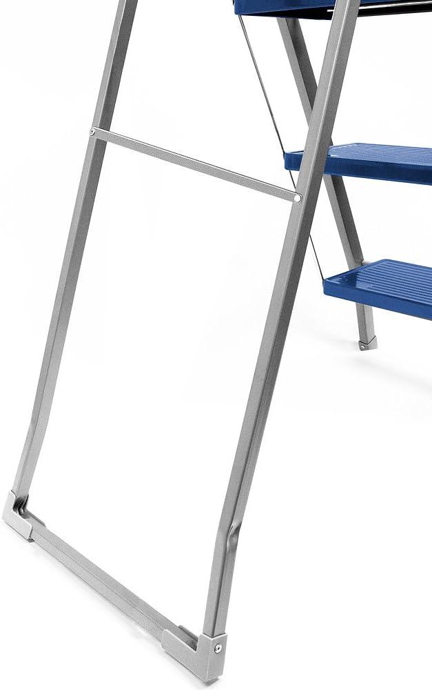 Leiter Trittleiter Stahl 4-stufig Modellauswahl Stehleiter Haushaltsleiter Klappleiter Klapptritt Malerleiter Klapptreppe