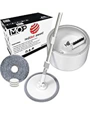 VENETIO iMOP Lazy Spin Mop and Bucket Floor Cleaning System with Water Filtration Spinner