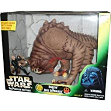 Kenner Star Wars Power of the Force Action Figure Playset - Rancor and Luke Skywalker with 9 Inch Tall Rancor and Unique 4 Inch Tall Battle-Worn Jedi Luke Skywalker Figure