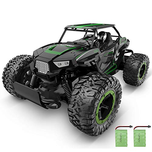 XIXOV RC Car, 1:14 Aluminium Alloy Kids Large Size High Speed Fast Racing Monster Vehicle Electric Hobby Toy Truck with Two Rechargeable Batteries for Boys Teens Adults from XIXOV