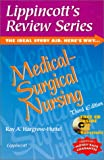 img - for Lippincott's Review Series, Medical-Surgical Nursing (Book with CD-ROM) book / textbook / text book