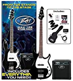 Peavey Electric Bass Guitar Pack Red